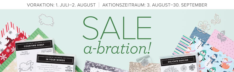 Sale-a-Bration vom 3. August bis 30. September 2021