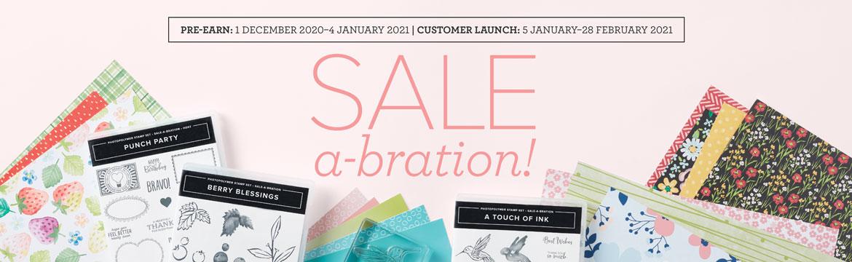 Sale-a-Bration Aktion vom 5. Januar bis 28. Februar 2021