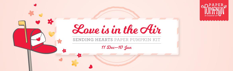 Sending Hearts by Paper Pumpkin