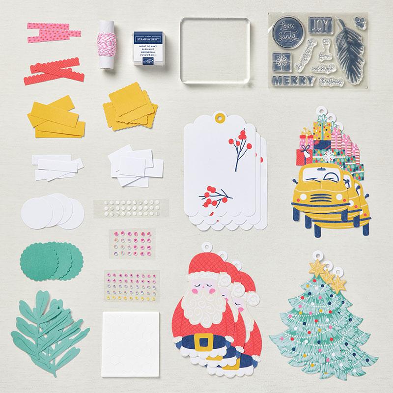 Love, Santa Tag Kit