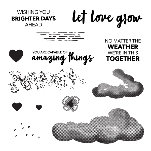 NO MATTER THE WEATHER CARD KIT