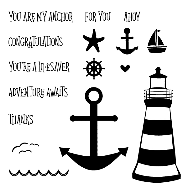 YOU ARE MY ANCHOR CARD KIT