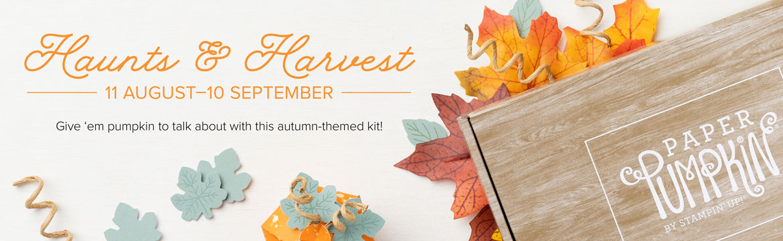 Haunts & Harvest by Paper Pumpkin
