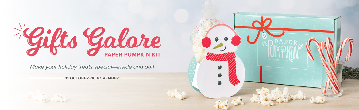Gifts Galore by Paper Pumpkin