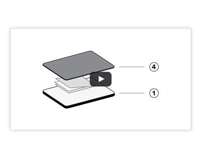 Stanzen und Prägen: 3-D-Prägeformen-Sandwich